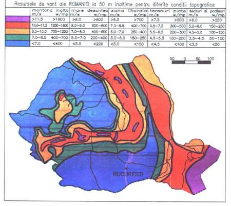 harta potentialuluieolian