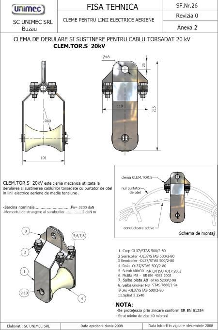 CLEM.TORS.S-20kV