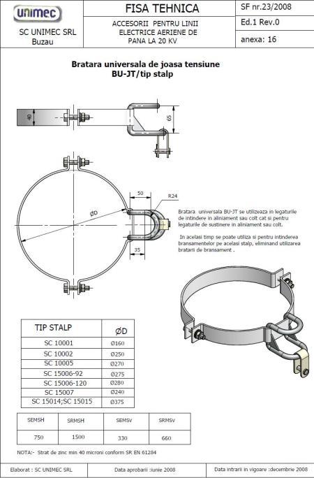 FISA TEHNICA-BU JT-centrifugati