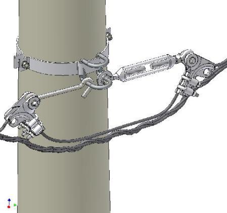 Legatura de intindere BU centrifugat & CLAMI