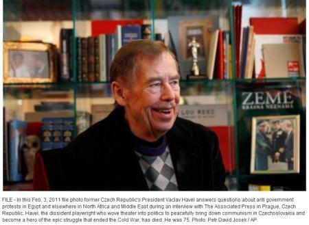 Vaclav Havel 3.02.2011 foto Petr David Josek