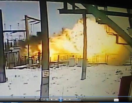 Explozie intraruptor 110 kV